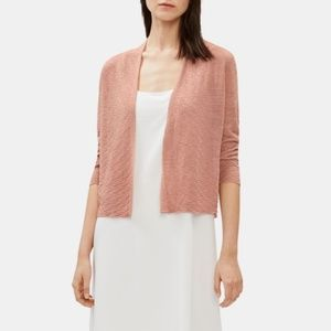 Eileen Fisher Open Cardigan w/ One Button Closure